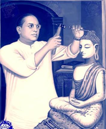 ambedkar making buddhis