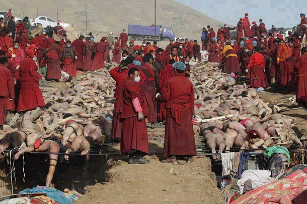 buddhist massacre