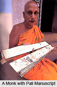 1_A_Monk_with_Pali_Manuscript