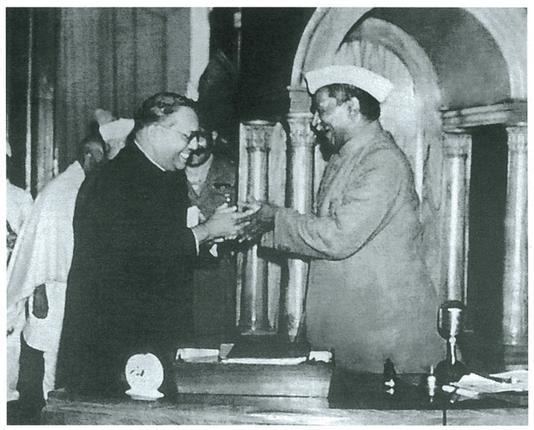 ambedkar and rajendra samvidhan