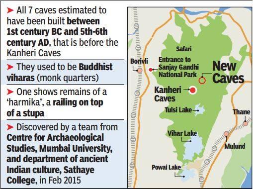 mumbai borivli buddhist cave (2)