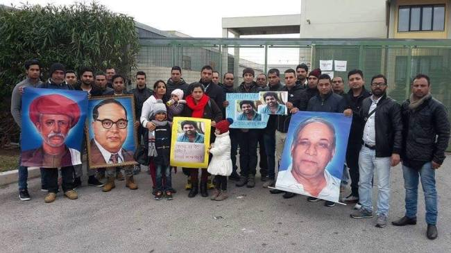 italy rohit protest