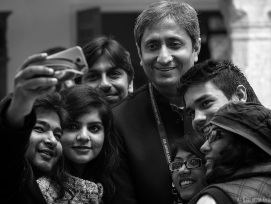 Ravish Kumar at Jlf