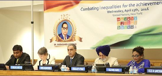 UN celebrated dr ambedkar jayanti