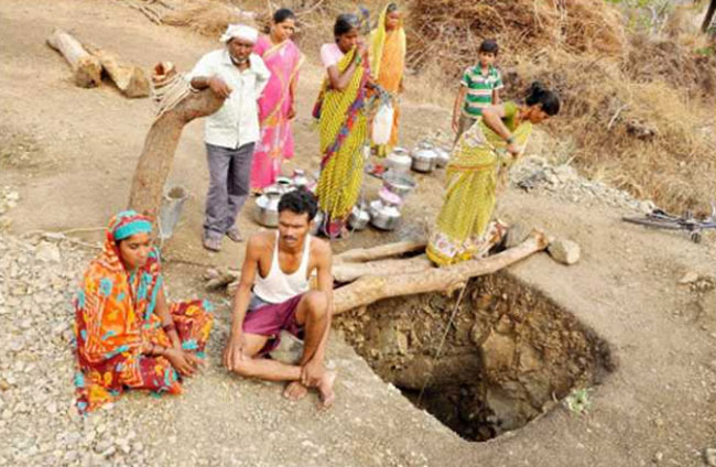 bapurao dalit dig own well