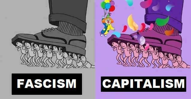 fascism vs captalism