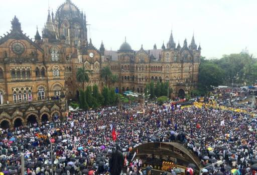 MUMBAI buddh press agitation1