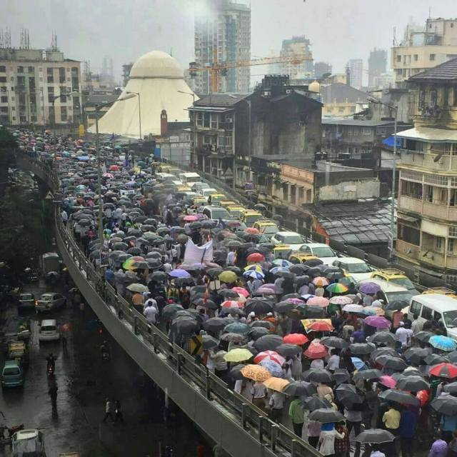 MUMBAI buddh press agitation2