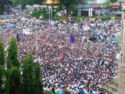 MUMBAI  buddh press agitation3