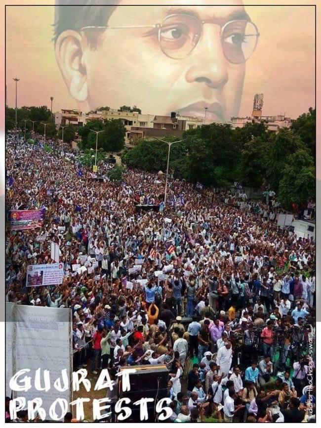 gujrat dalit protest